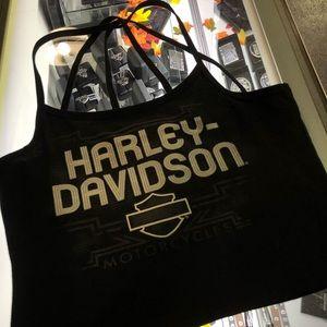 Harley Davidson woman's crop top
